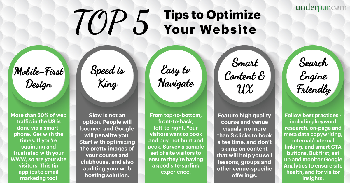 Top 5 Tips to Optimize Your Website for Bookings and Sales