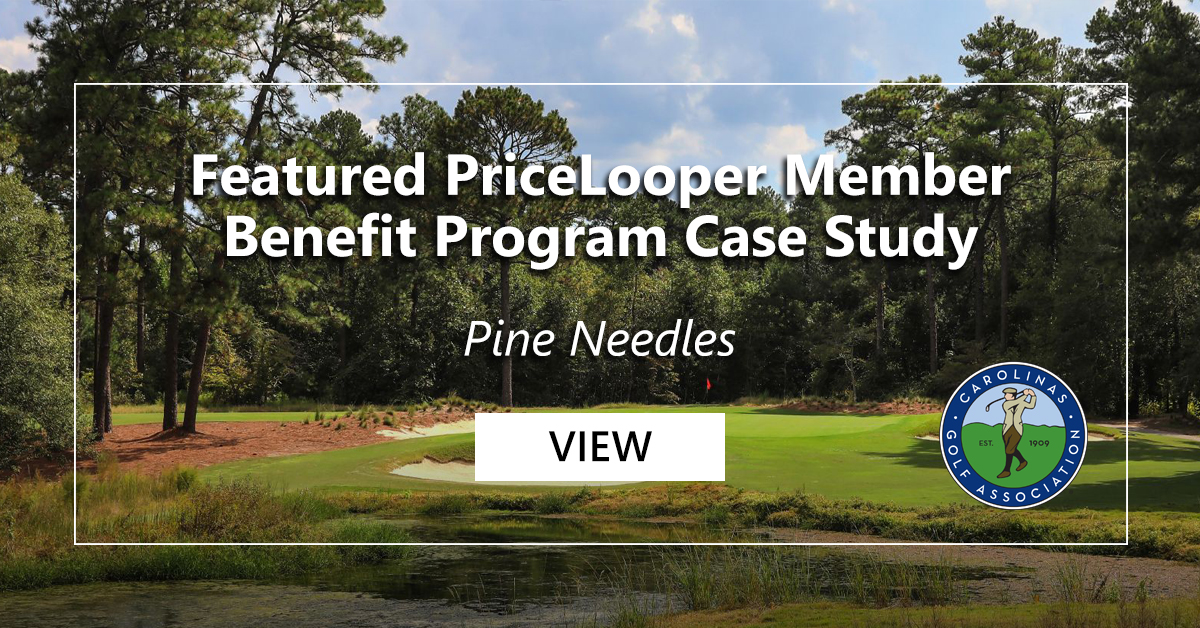 Featured PriceLooper Member Benefit Program Case Study - Pine Needles