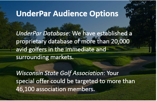 Wisconsin Audience Options UnderPar