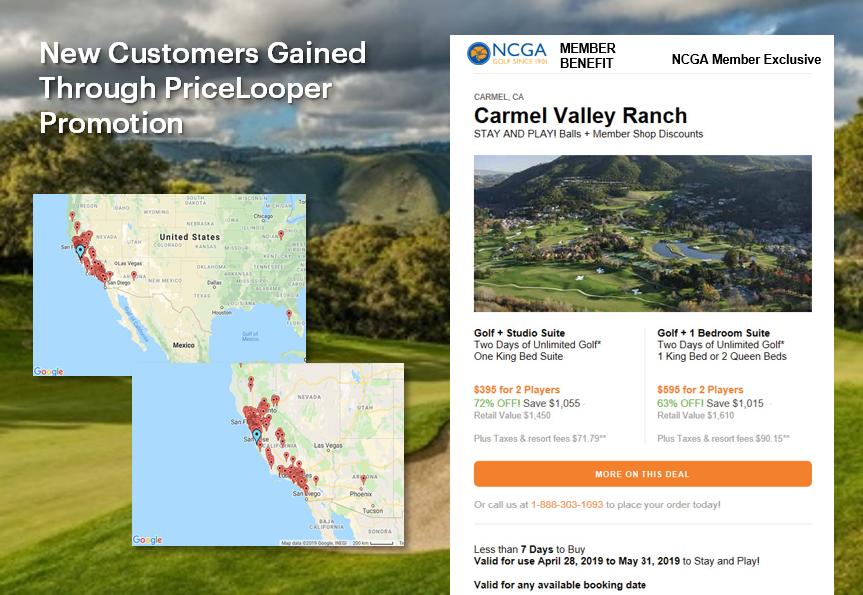 Nor Cal Carmel Valley Ranch UnderPar Promotion